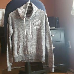 Grey reflex hoodie